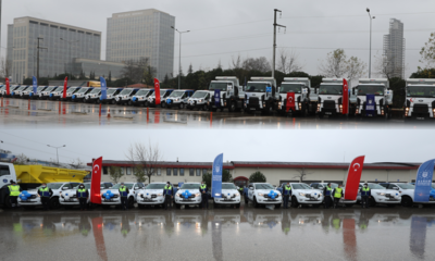 Bursa Büyükşehir, 47 araçla hizmet filosunu güçlendirdi