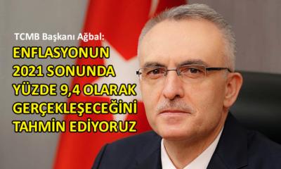 TCMB Başkanı Ağbal'dan yılsonu enflasyon tahmini