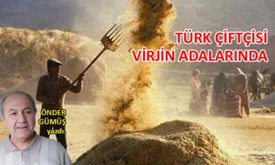 Türk çiftçisi Virjin Adalarında…