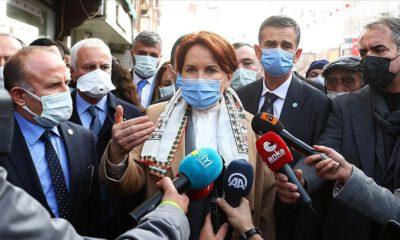 Akşener: Dertlerin konuşulmadığı bir Türkiye'yi reddediyorum