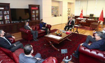 Kılıçdaroğlu, DİSK Başkanı Çerkezoğlu'nu kabul etti