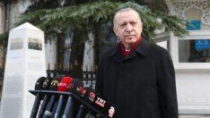 Cumhurbaşkanı Erdoğan: Evelallah sapasağlamım