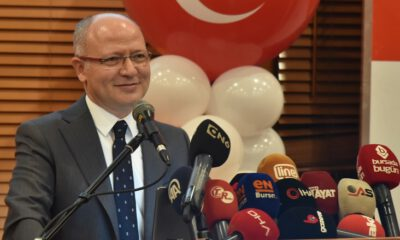 AK Parti Bursa İl Başkanı Davut Gürkan, il yönetimini tanıttı