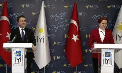 DEVA Partisi Genel Başkanı Babacan'dan Akşener'e ziyaret