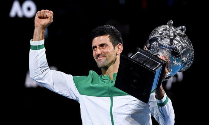 Avustralya Açık'ta tek erkekler şampiyonu Djokovic oldu