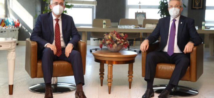 Kırcaali'den Nilüfer Belediyesi'ne iş birliği önerisi