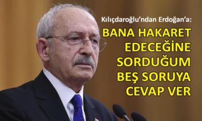 Kılıçdaroğlu, grup toplantısında Erdoğan'a seslendi