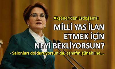 Meral Akşener'den iktidara sert eleştiri