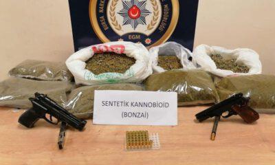 Bursa'da uyuşturucu operasyonu: 25 şüpheli tutuklandı