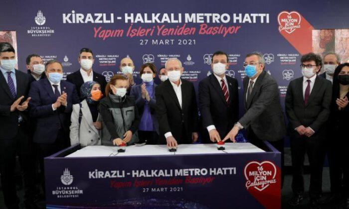 2018'de durdurulan Kirazlı-Halkalı Metrosu yeniden…