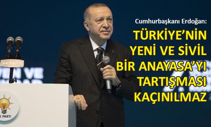 Erdoğan, AK Parti kongresinde konuştu