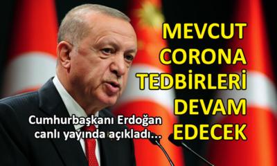 Erdoğan: Aynı uygulamalar devam edecek