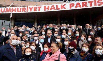 CHP lideri Kılıçdaroğlu, emeklilerle buluştu