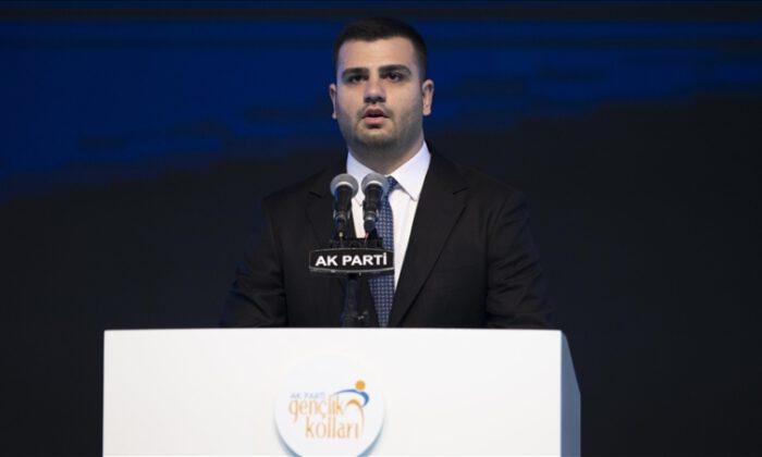 AK Parti Gençlik Kolları Başkanlığına, Eyyüp Kadir İnan seçildi