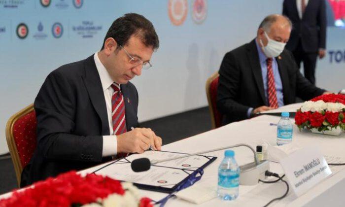 İBB'de toplu iş sözleşmesi heyecanı