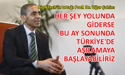Prof. Dr. Uğur Şahin'den 'aşı' açıklaması