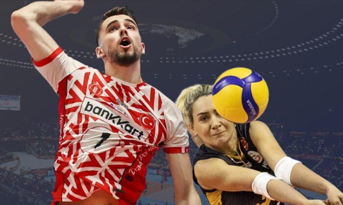 Voleybolda 4 Türk takımı Avrupa kupalarında sahaya çıkacak