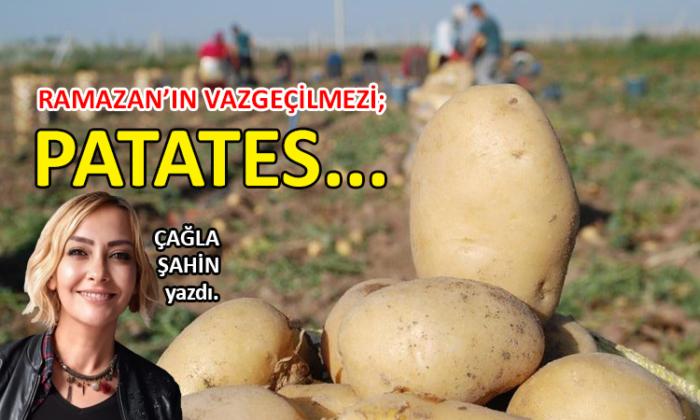 Ramazan'ın vazgeçilmezi; patates…