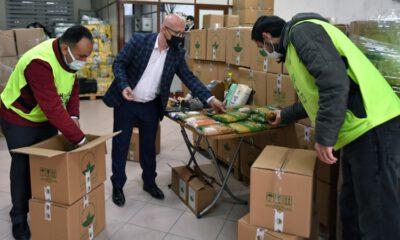 Osmangazi Belediyesi erzak paketleri vatandaşla buluşacak