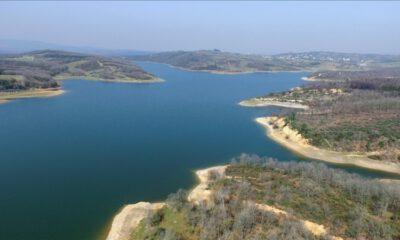 İstanbul barajlarında doluluk oranı yüzde 74,70'e yükseldi