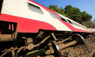 Mısır'da tren kazası: Çok sayıda ölü ve yaralı