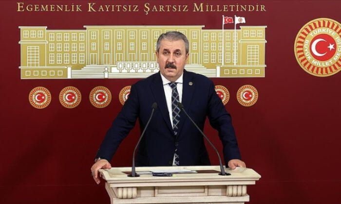 BBP Genel Başkanı Destici'den 'anayasa' çağrısı