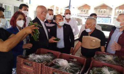 İYİ Partili Subaşı: Semt pazarları kapalı, ürün çöpe gidiyor