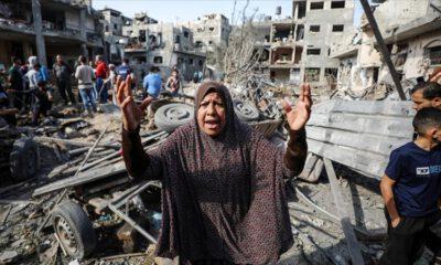 İsrail saldırılarında 181 Filistinli hayatını kaybetti