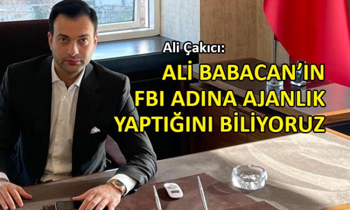Çakıcı'nın oğlu Ali Çakıcı'dan Babacan'a sert sözler
