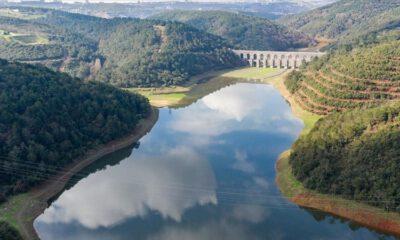 İstanbul'un barajlarında doluluk oranı yüzde 76,84 seviyesinde