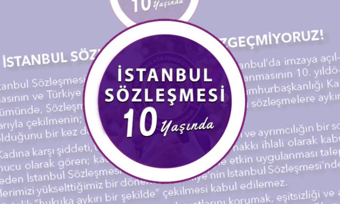 78 baro başkanının ortak sesi: İstanbul Sözleşmesi'nden vazgeçmiyoruz!
