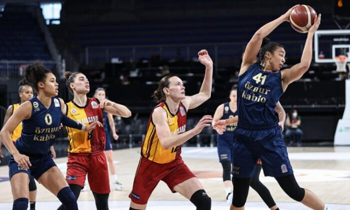 Kadınlar Basketbol Süper Ligi'nde Fenerbahçe Öznur Kablo şampiyon