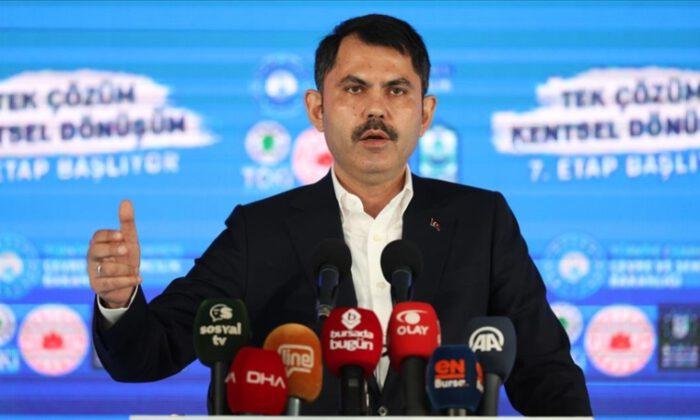 Bakan Kurum: 300 bin sosyal konut inşası sürüyor