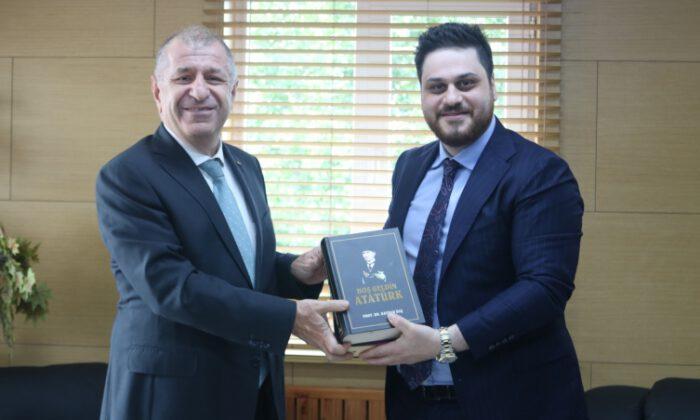 Ümit Özdağ'dan BTP lideri Baş'a ziyaret
