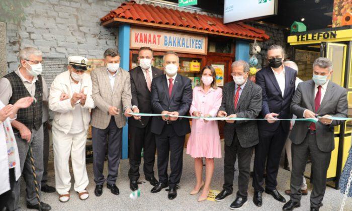 Bursa'da 70'ler ve 80'lerin mahallesi kuruldu