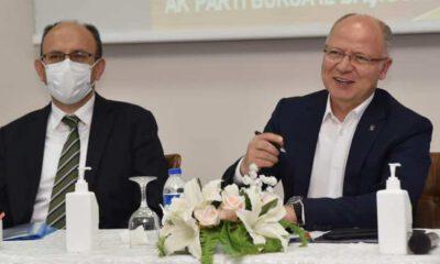 AK Partili 17 ilçe başkanı, Bursa'yı konuştu
