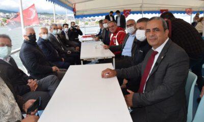 CHP Bursa İl Örgütü, denize açıldı