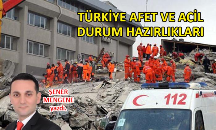Türkiye Afet ve Acil Durum Hazırlıkları