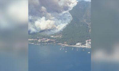 Marmaris'te orman yangını: Can kaybı var