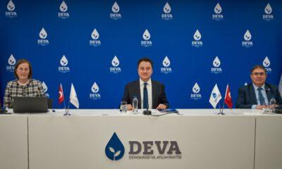 DEVA Partisi'nden yeni eylem planı