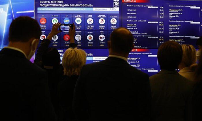 Rusya'da Duma seçimlerinden Putin'in partisi birinci çıktı