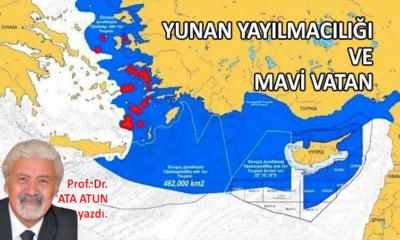 Yunan yayılmacılığı ve Mavi Vatan
