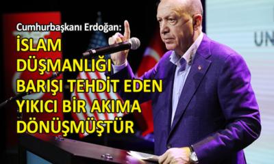 Cumhurbaşkanı Erdoğan, ABD'de konuştu…