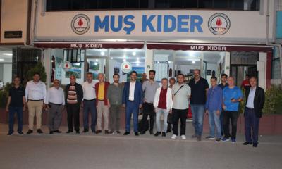 Bursa MUŞ KIDER, yerel basınla buluştu