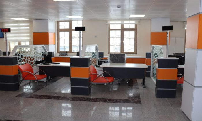 Sivas'ta Kangal Nüfus Müdürlüğü'ne yeni konsept
