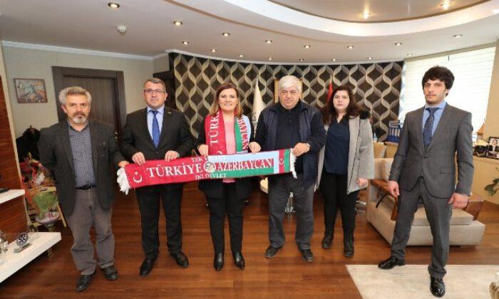 Azerbaycan'dan Kocaeli İzmit'e teşekkür ziyareti