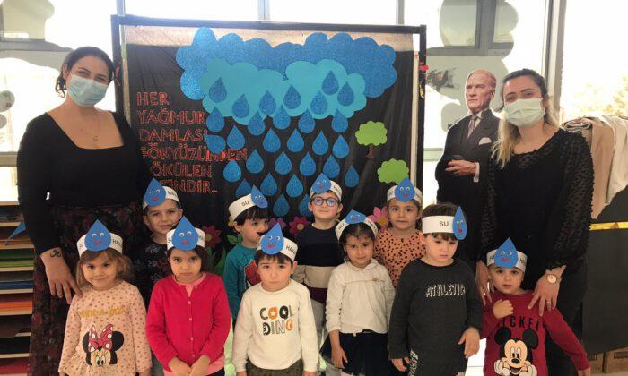 Manisalı minikler Dünya Su Günü'nü kutladı