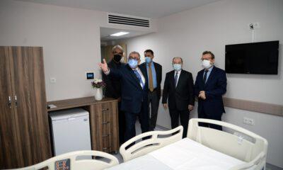 BUÜ Hastanesi kliniklerine yeni çehre