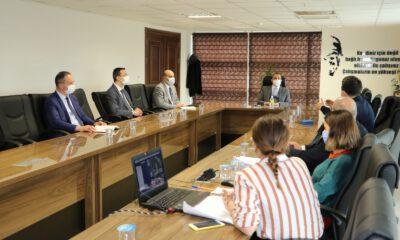 Manisa'da Coğrafi Bilgi Sistemleri toplantısı yapıldı