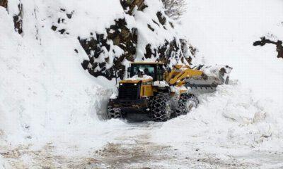 Siirt'te kar dolayısıyla 21 köye ulaşım sağlanamıyor